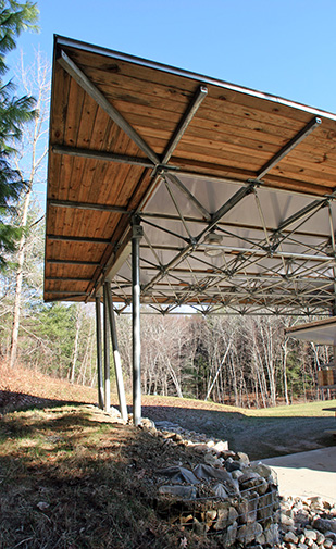 Lightweight Space Frame Roof